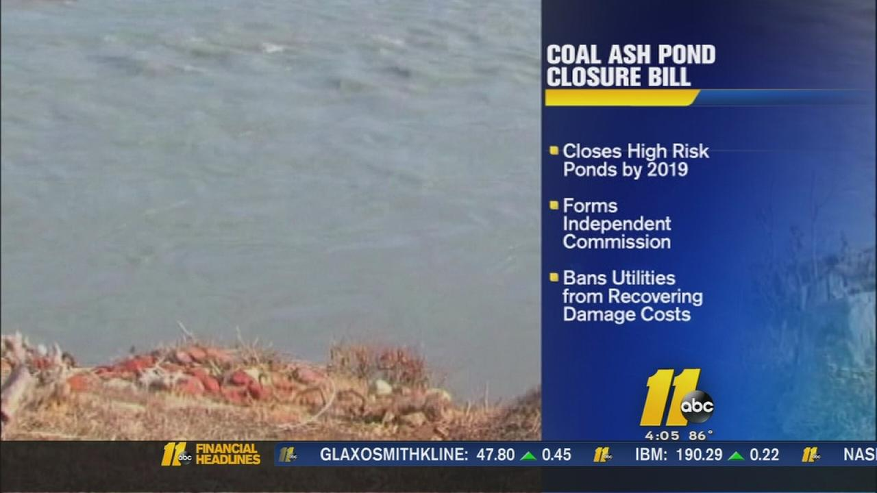 NC legislators push bid to regulate toxic coal ash