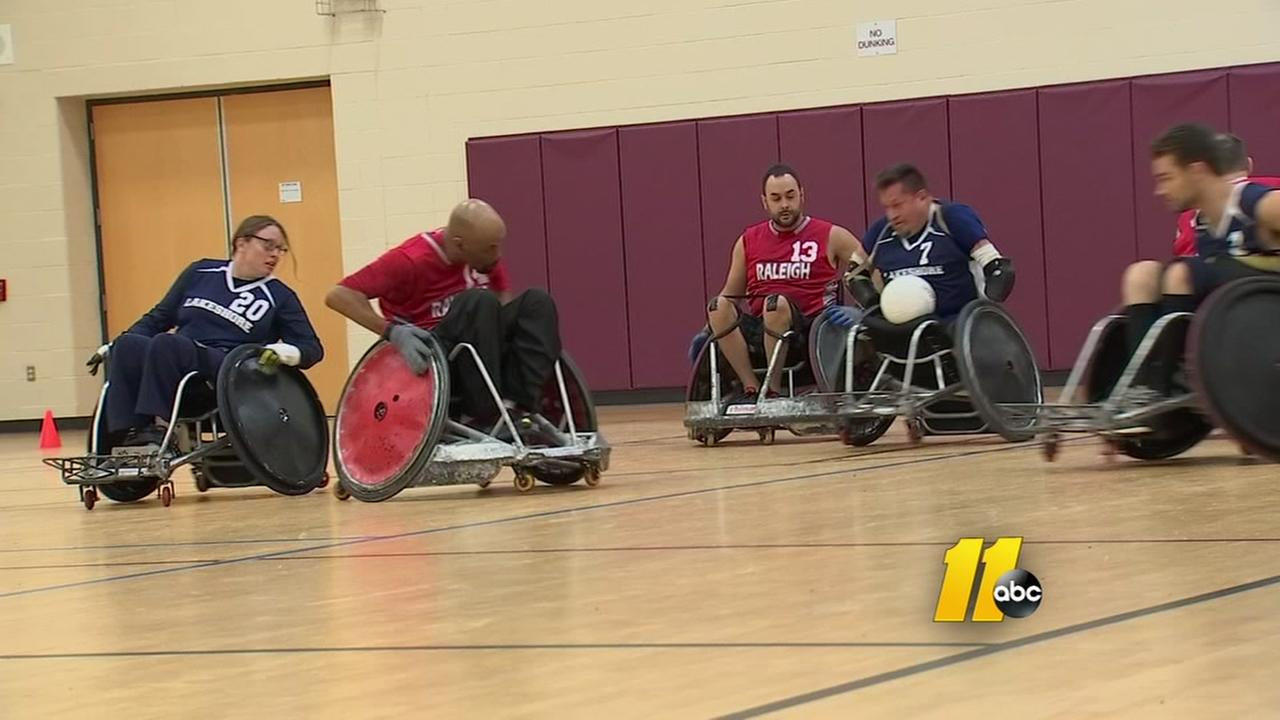 Raleigh hosts wheelchair rugby tournament