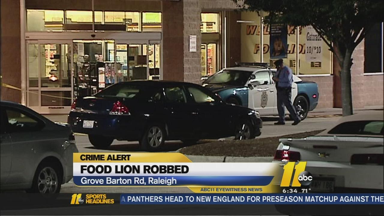 Crime alert in Raleigh after two armed robberies