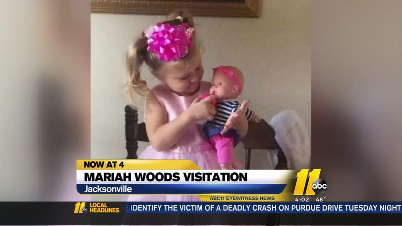 Public visitation held for Mariah Woods