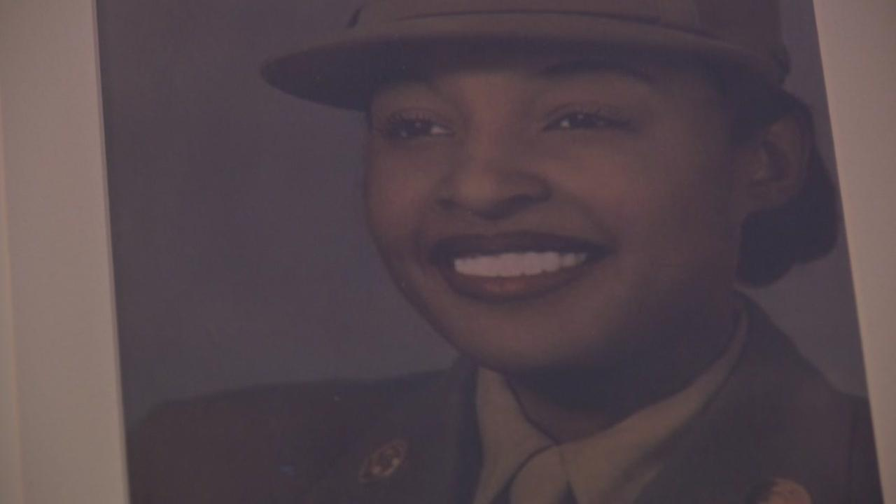 Millie Dunn Veasey joined the militarys first all-black-and-female battalion when women were called to service in WWII.