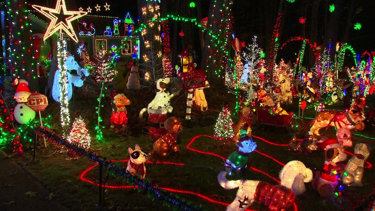 Where to see Christmas lights in Wake County