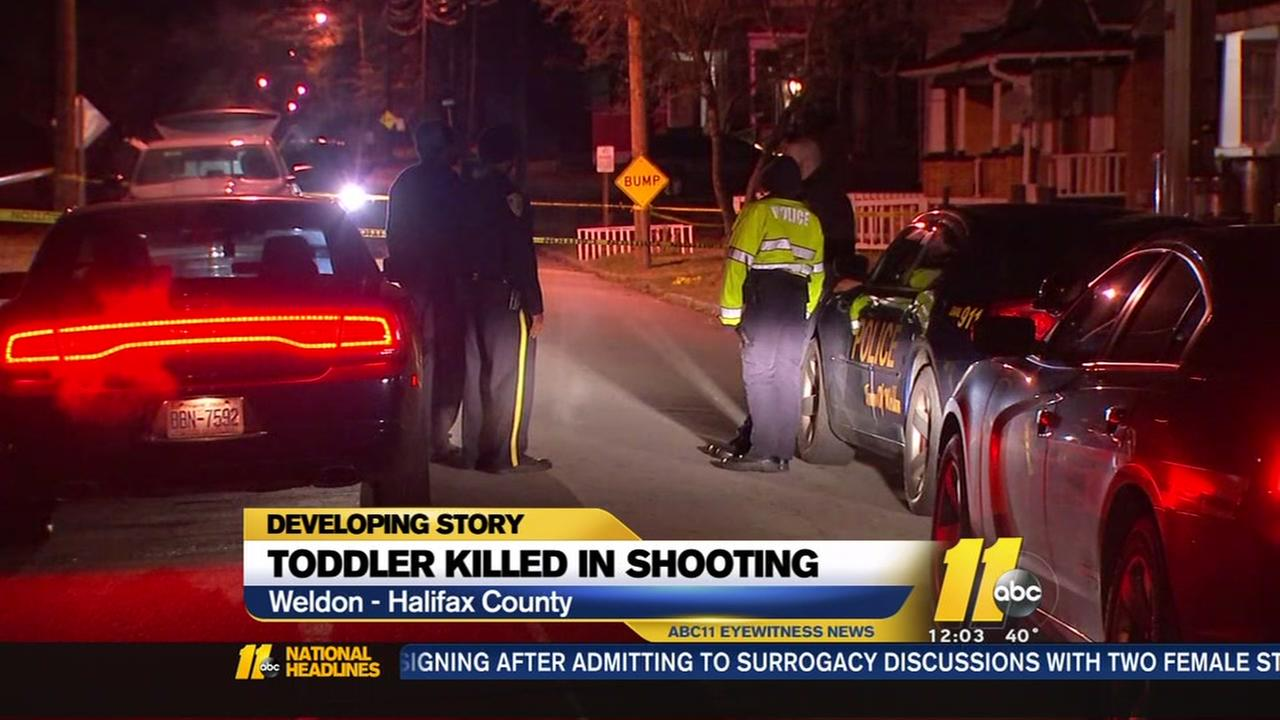 Toddler boy fatally shot in Halifax County drive-by shooting