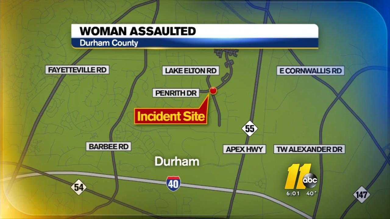 Durham woman sexually assaulted