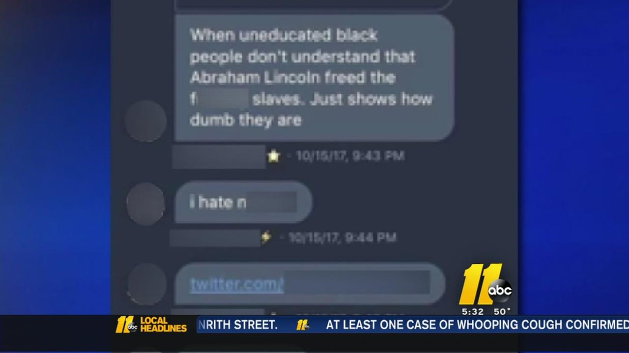 Cumberland County students suspended over racist tweets