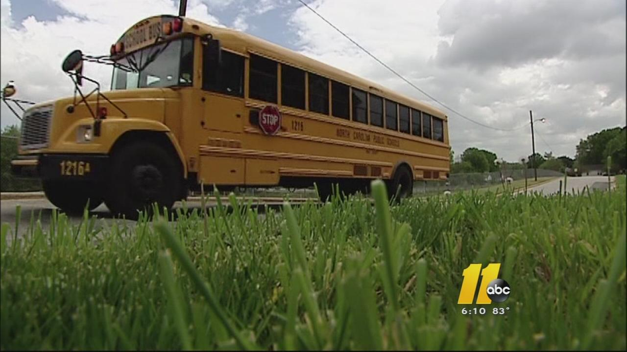 Wake County school bus drivers prepare for first day of class
