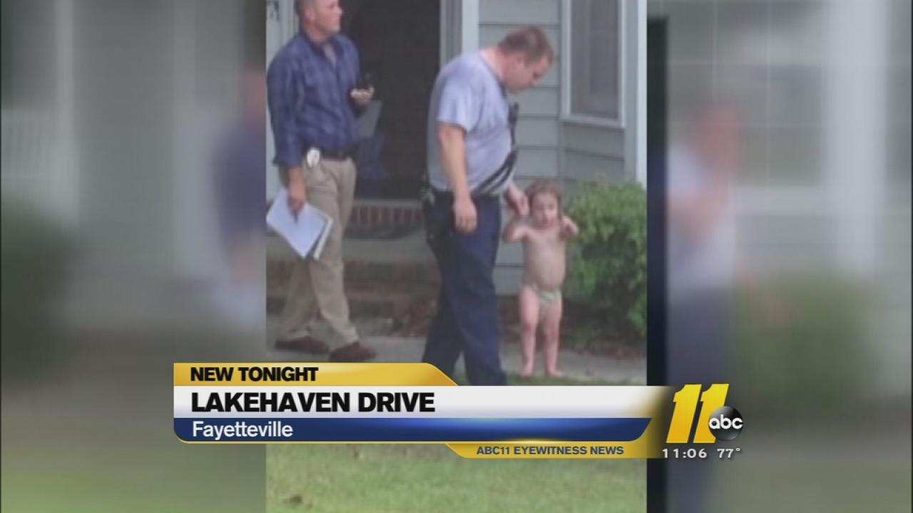 Missing child found safe in neighbors home in Fayetteville
