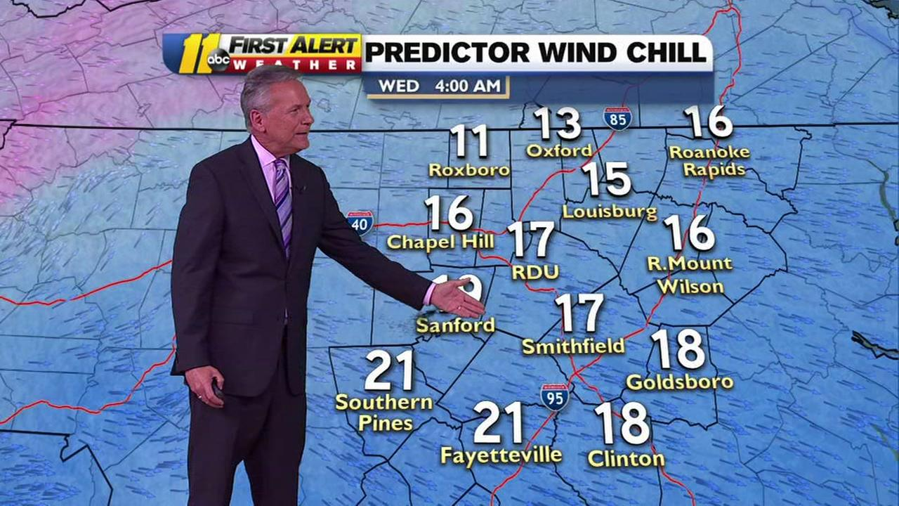 Cold weather on its way