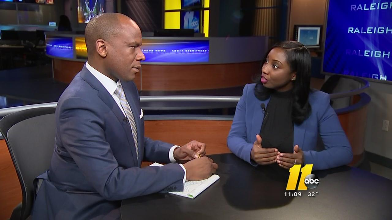 ABC11 exclusive: Jessica Holmes explains her hopes for the future of Wake County