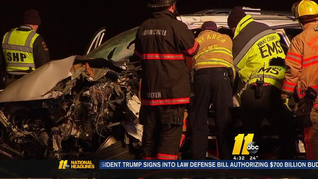 Driver critically injured in wrong way crash on I-40