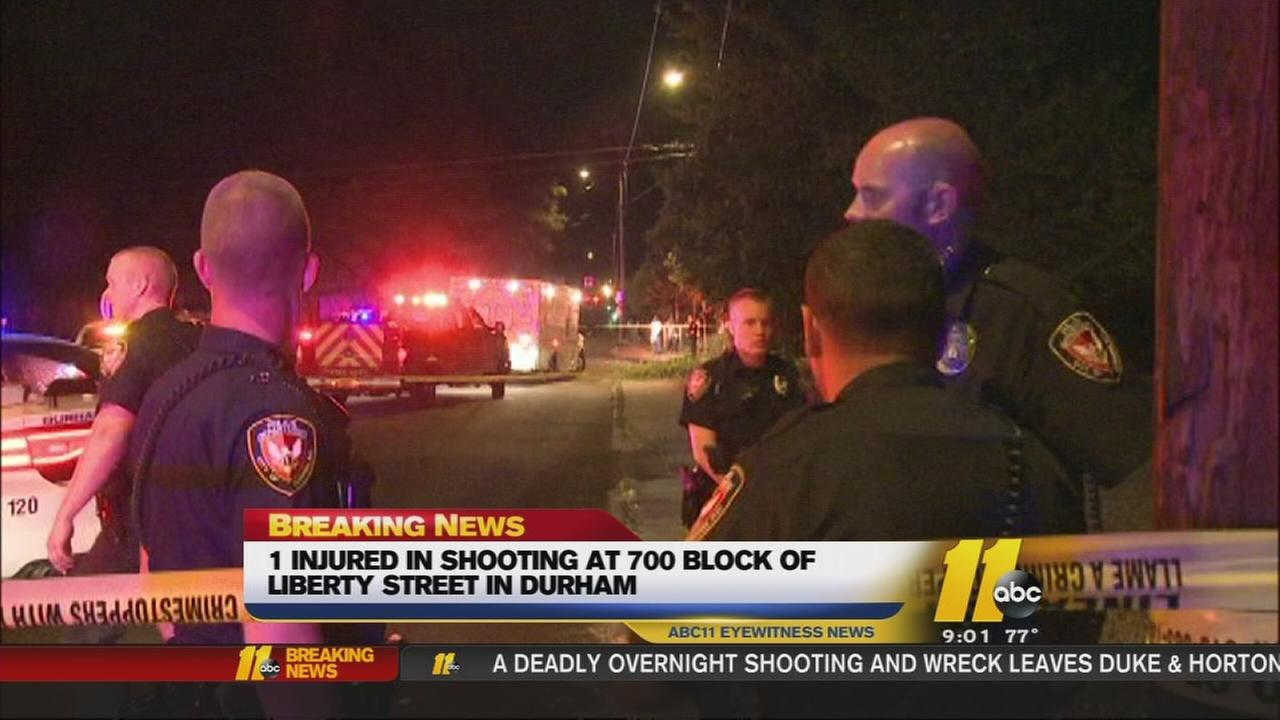 1 injured in drive-by shooting in Durham