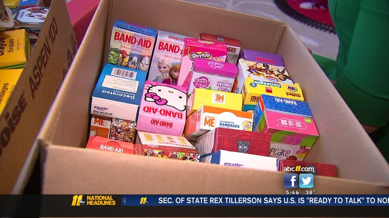 15,500 band-aids donated to help kids with cancer