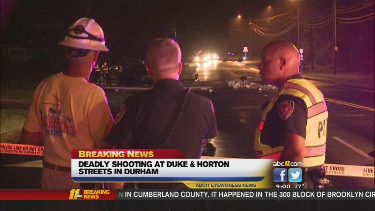 Deadly shooting, wreck creates big mess in Durham