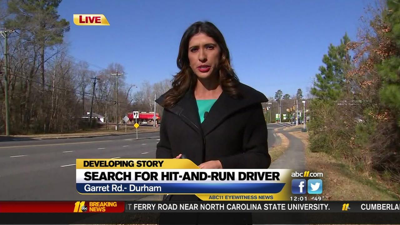 Cyclist struck in Durham hit and run