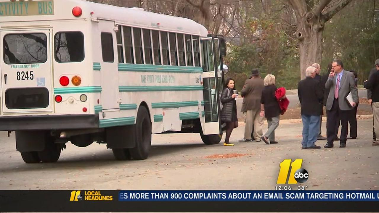 Wake County school funding tour