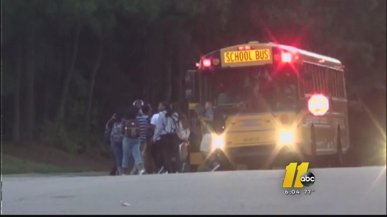 No major problems on first day of school in Wake County