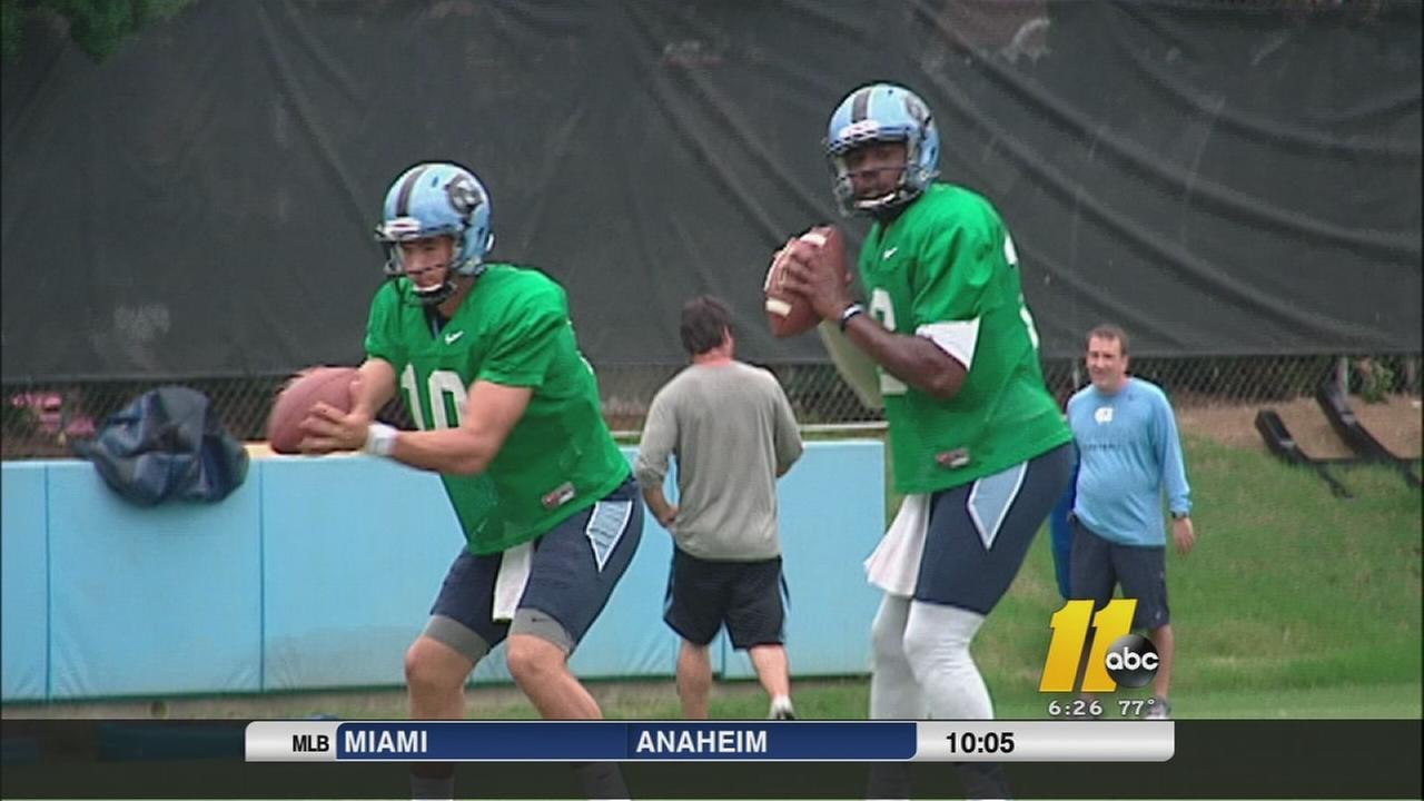 UNC quarterbacks