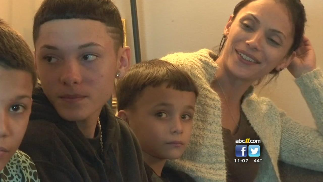 Puerto Rico family shelters in Fayetteville