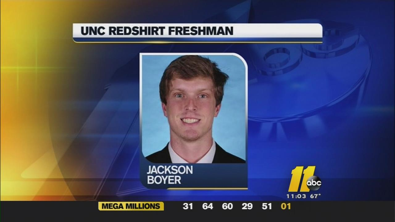 Alleged hazing incident investigated at UNC -- Jackson Boyer