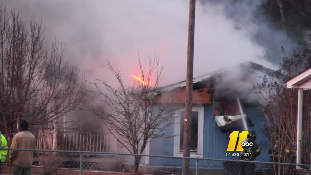 Hope Mills family loses all in house fire
