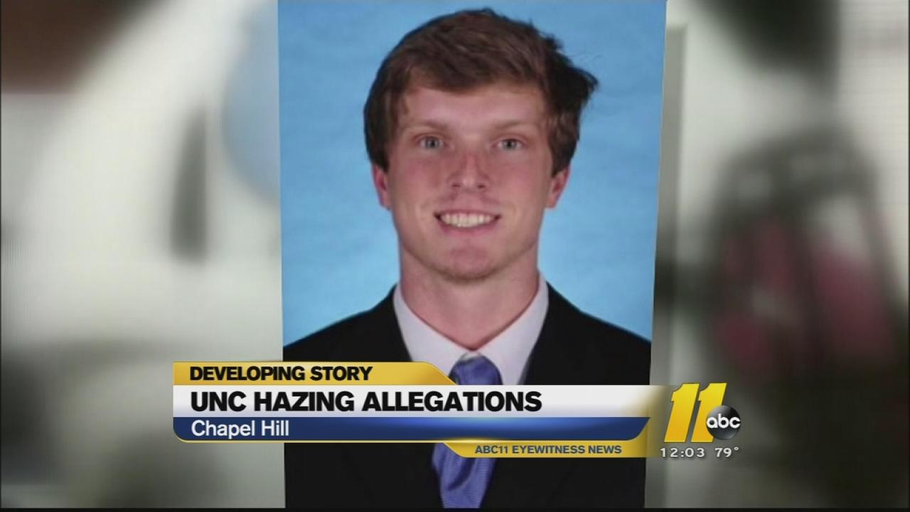 alleged hazing incident investigated at UNC