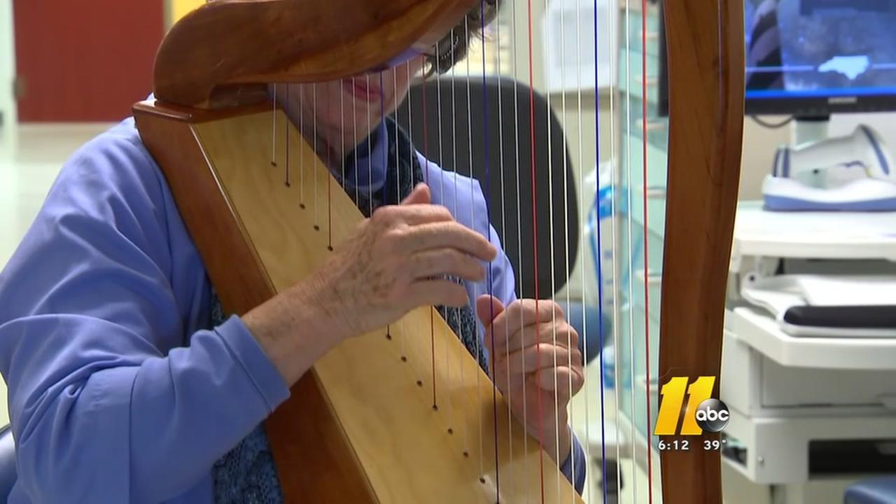 Healing Harp Therapy benefits NICU babies