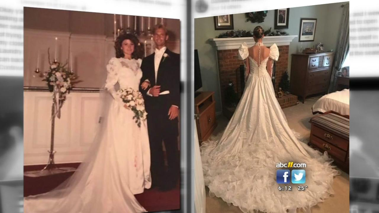 Wedding dress mixup discovered decades later
