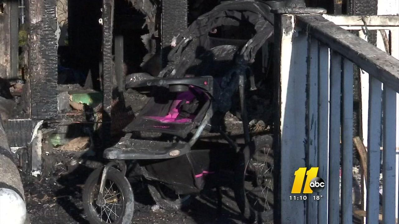 Outpouring of support for Hope Mills family after fire