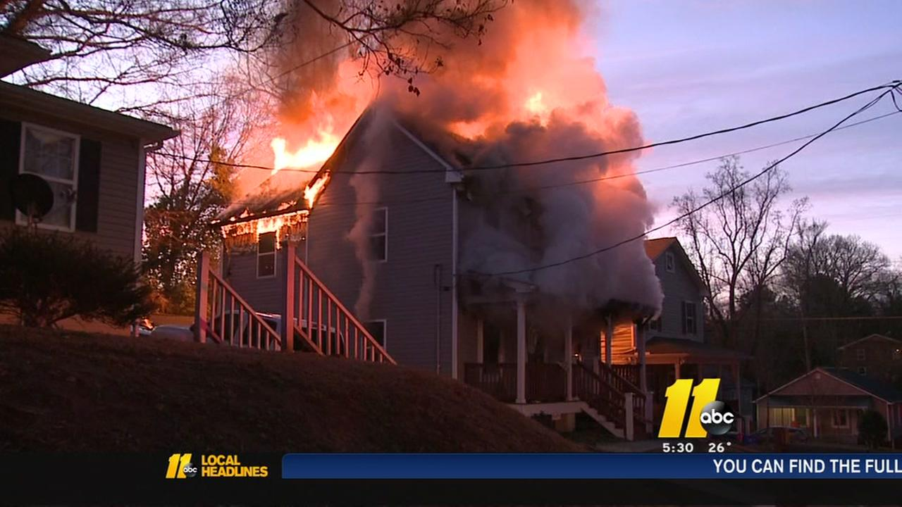 Durham familys new year starts with loss of home to fire