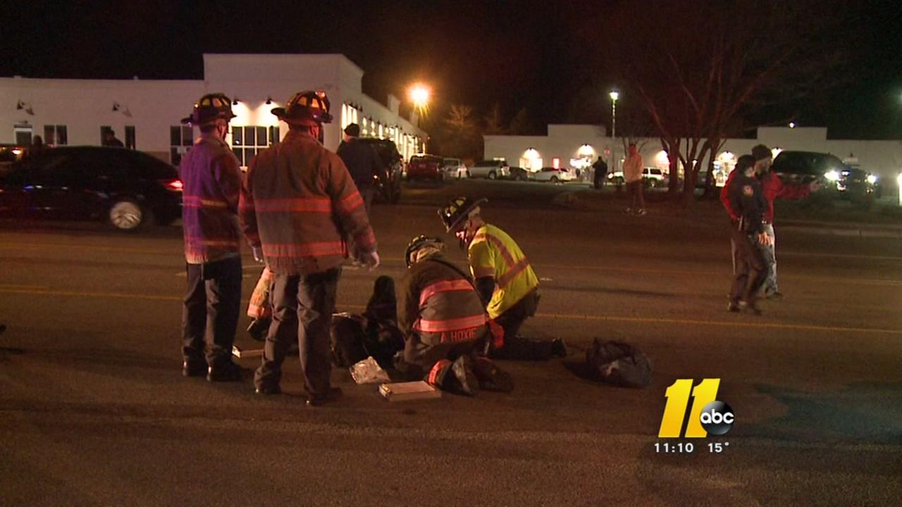 Durham Police respond to hit and run