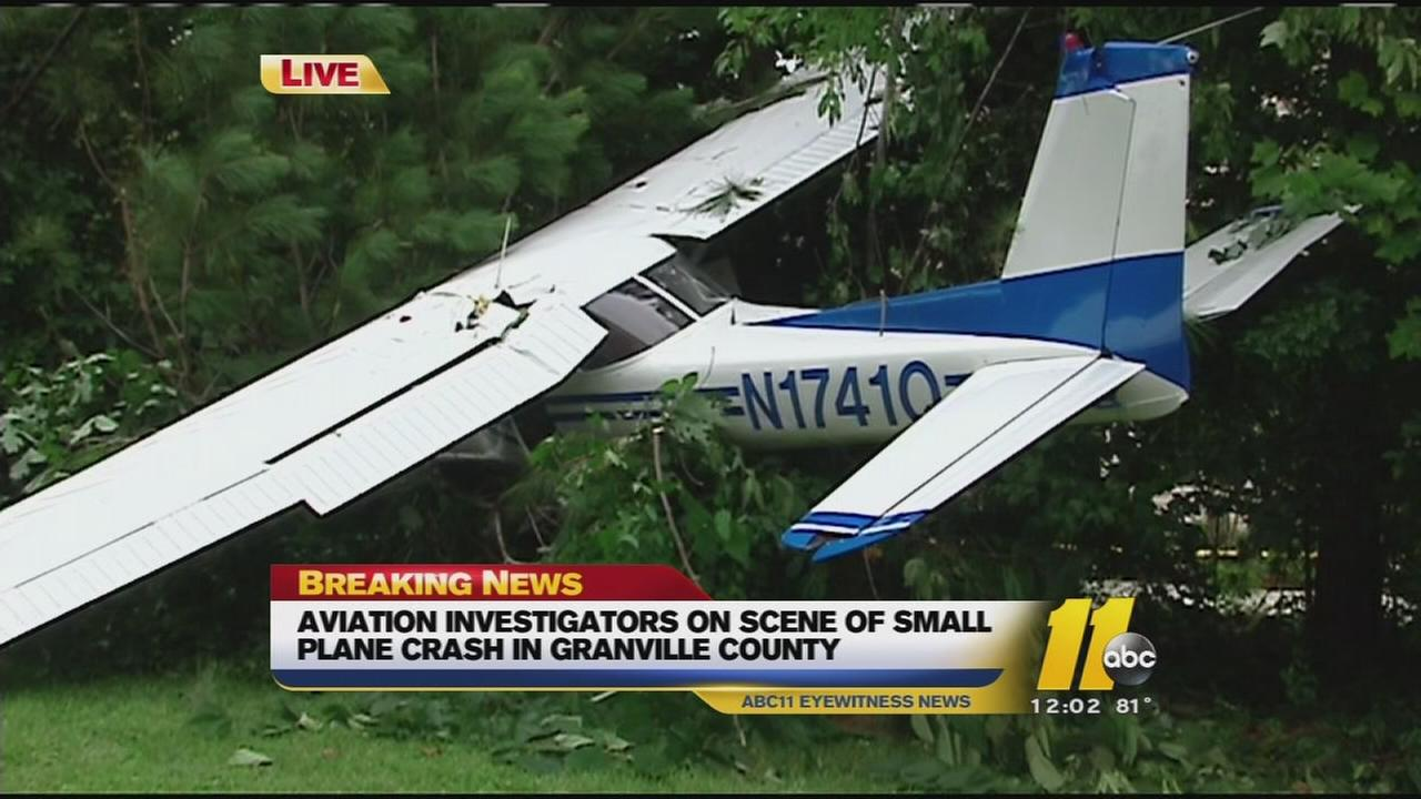 Pilot injured in small plane crash