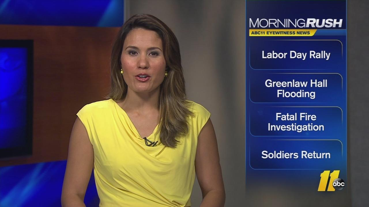 Get the latest headlines in the Morning Rush