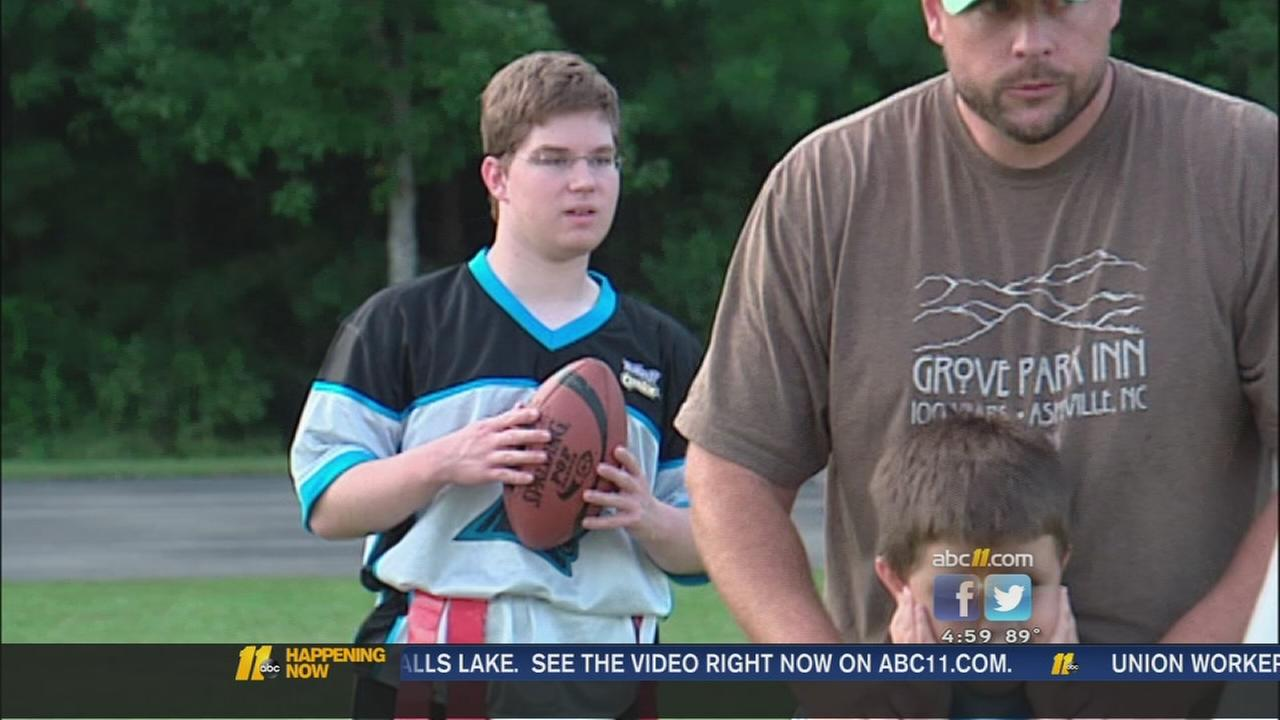 League helps special needs children be part of the team