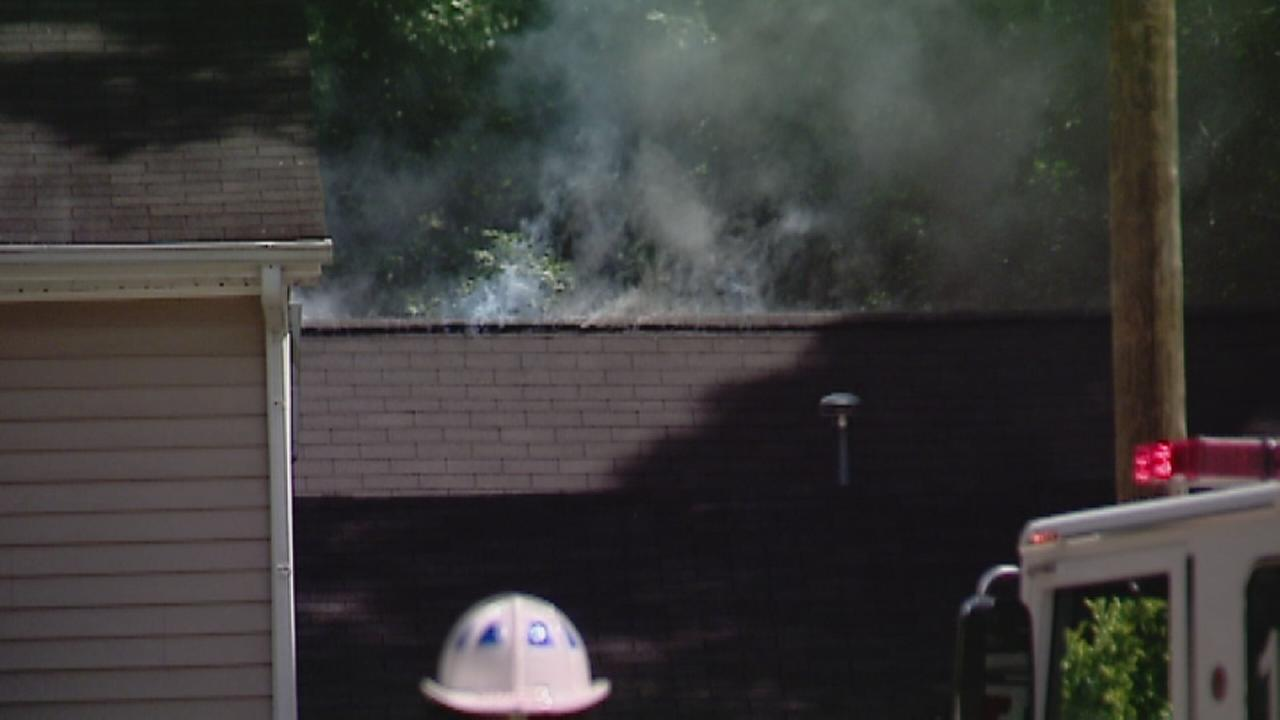 garage fire in Raleigh