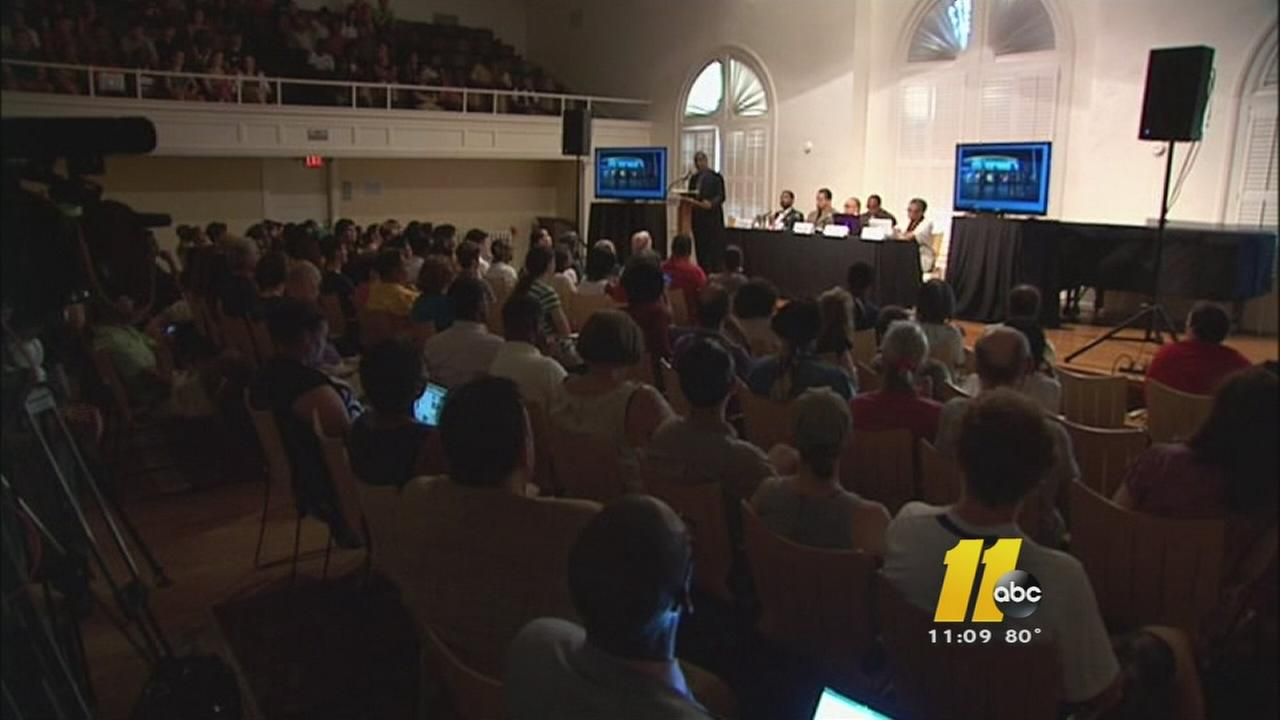 Duke hosts town hall meeting on racism surrounding death of Michael Brown