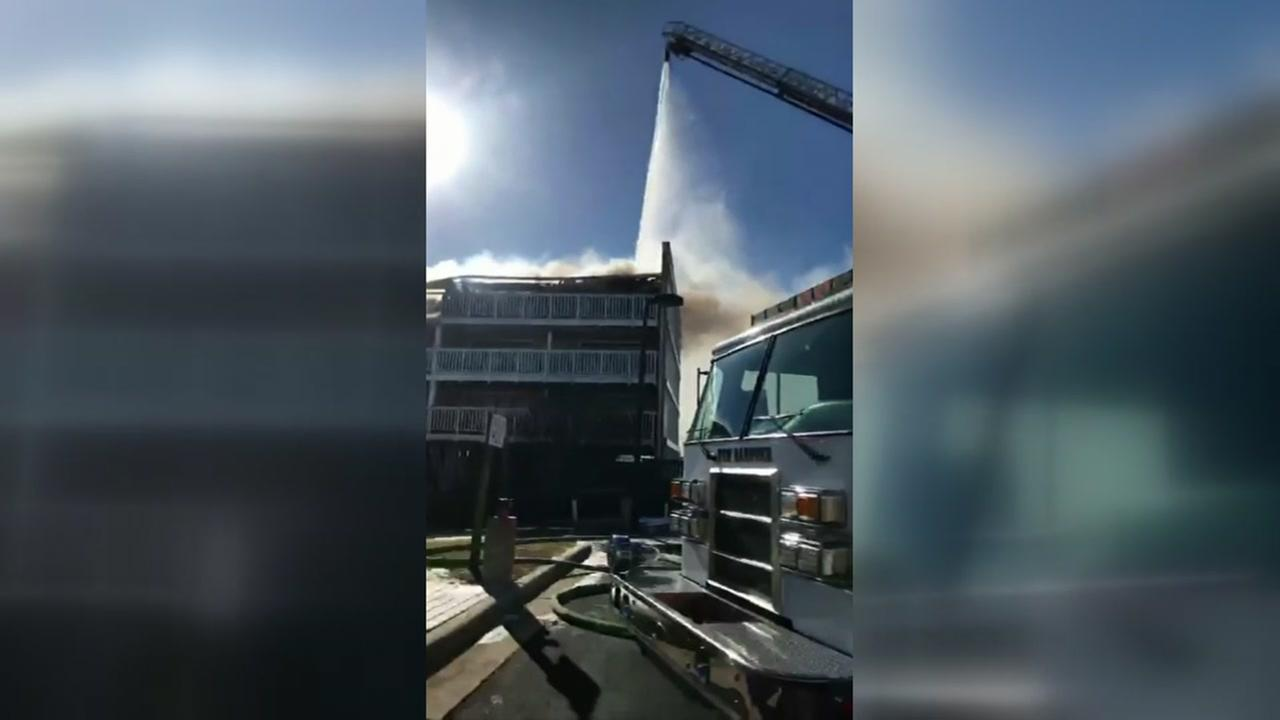 One person killed in Carolina Beach condo fire