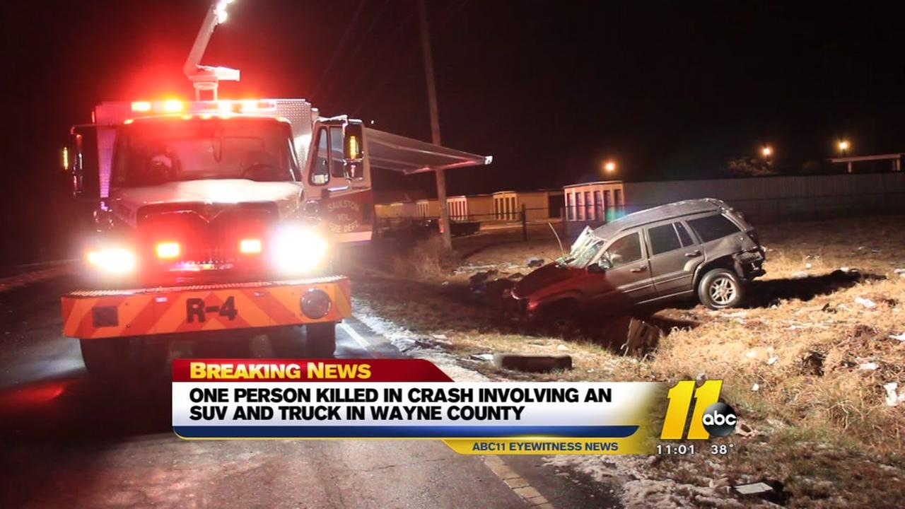 Person killed in Wayne County crash