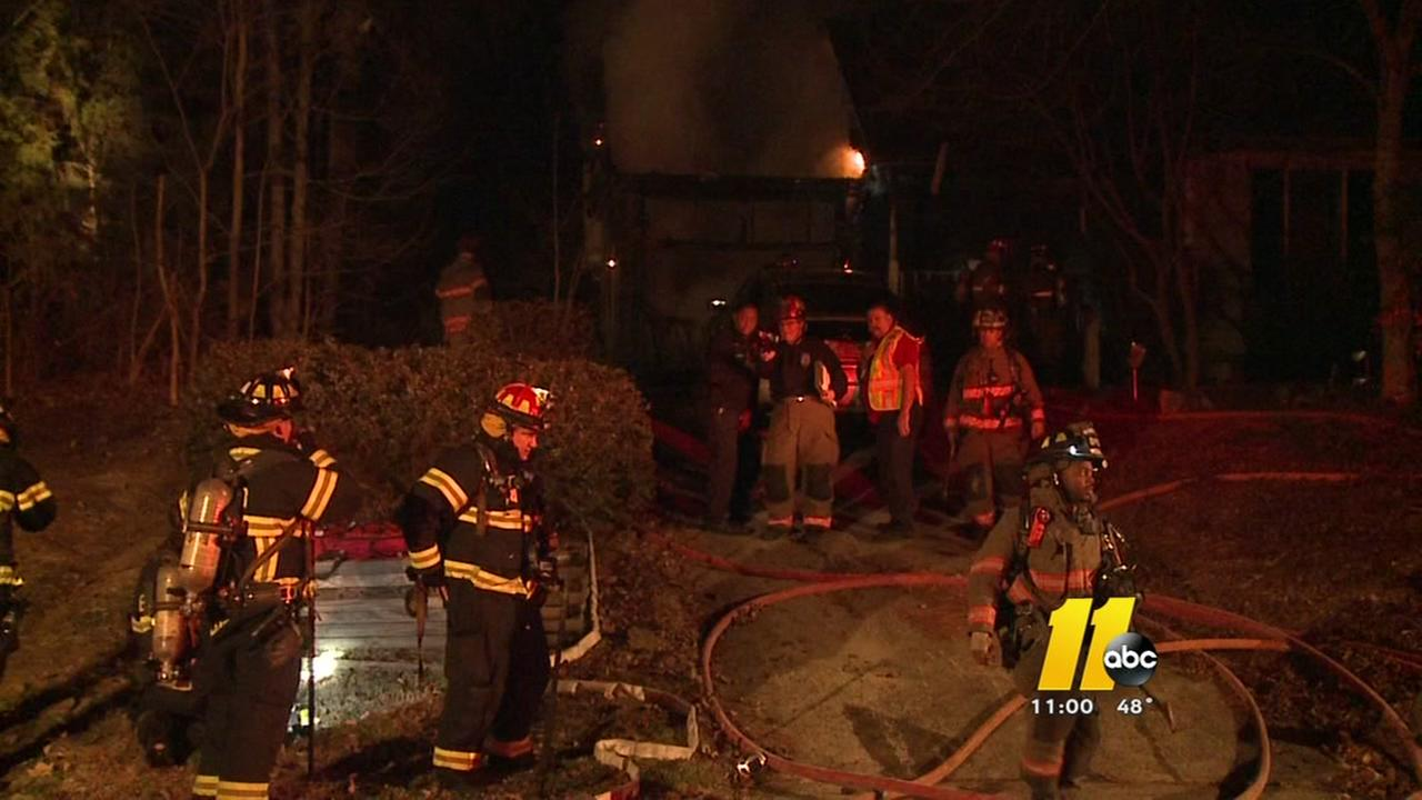 Fire damages Durham home