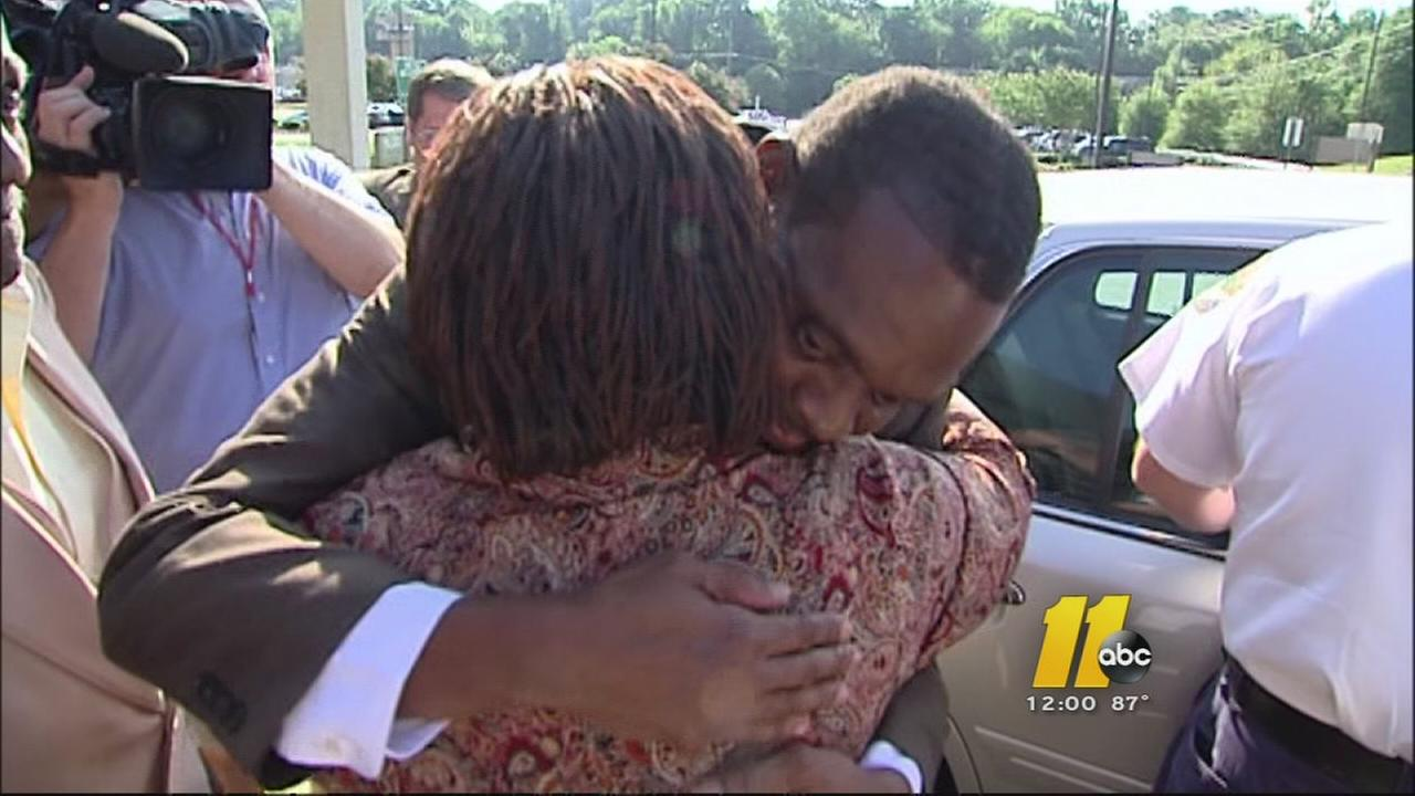 Man walks free after 30 years behind bars