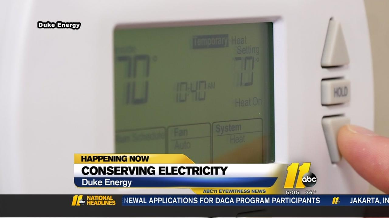 Duke Energy wants you to conserve energy