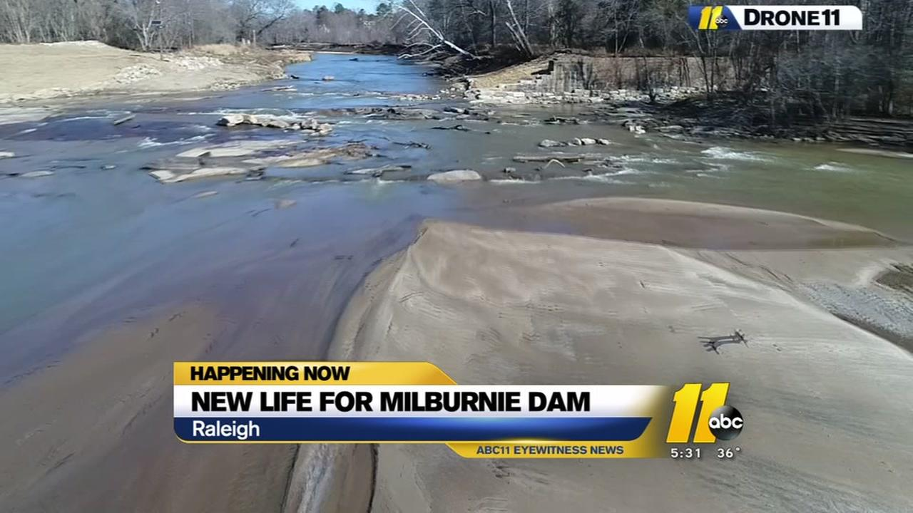 New life for Milburnie Dam