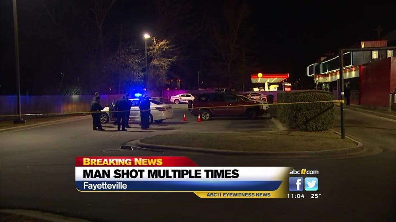 Man shot multiple times in Fayetteville