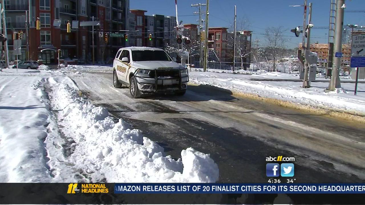 Durham Sheriffs Office has tip for driving in the wintry weather