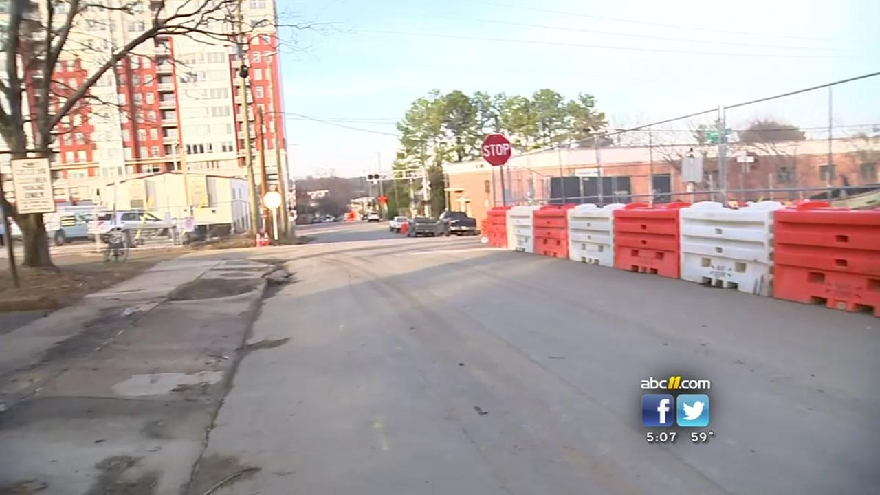 Harrington Street reopens in downtown Raleigh