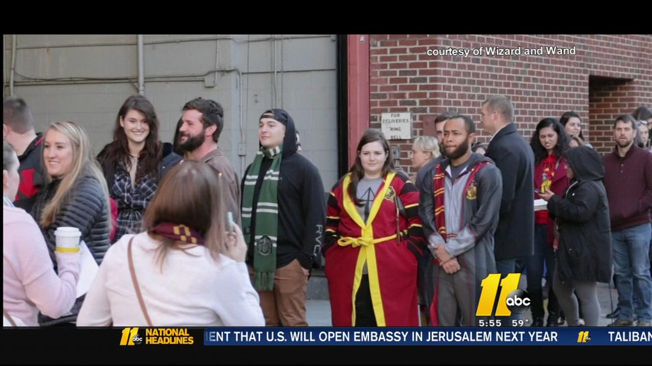 Harry Potter fans unhappy in Raleigh