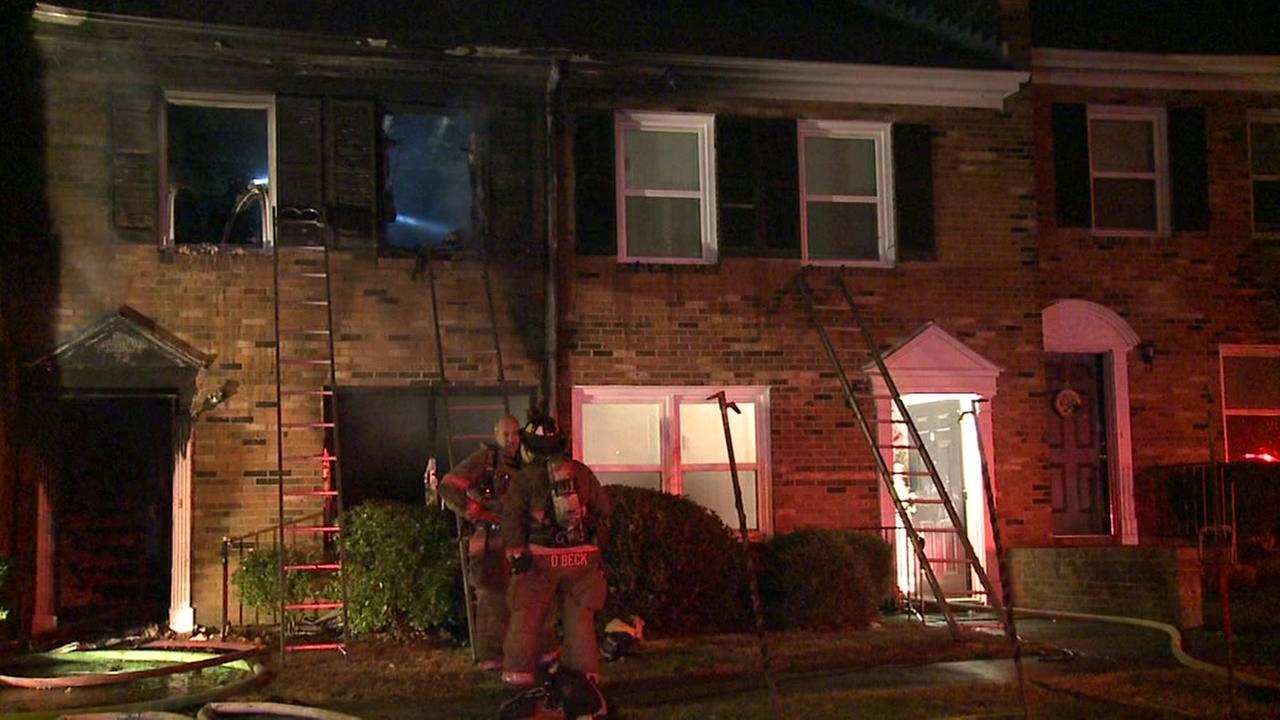 Durham apartment building catches fire