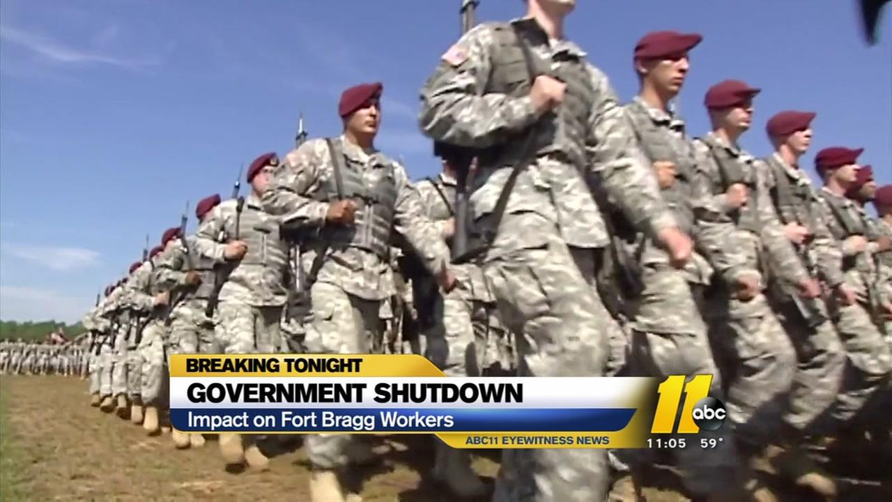 Fort Bragg getting back to work after shutdown ends