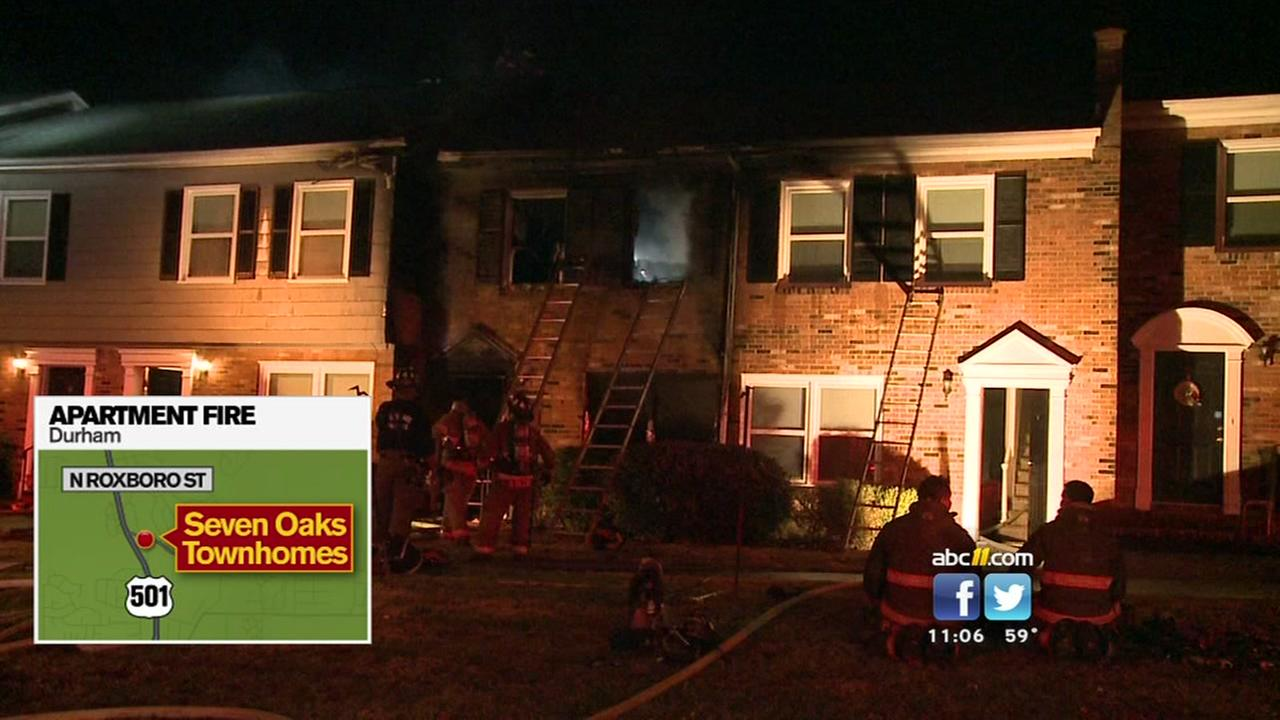 Five displaced by Durham apartment fire