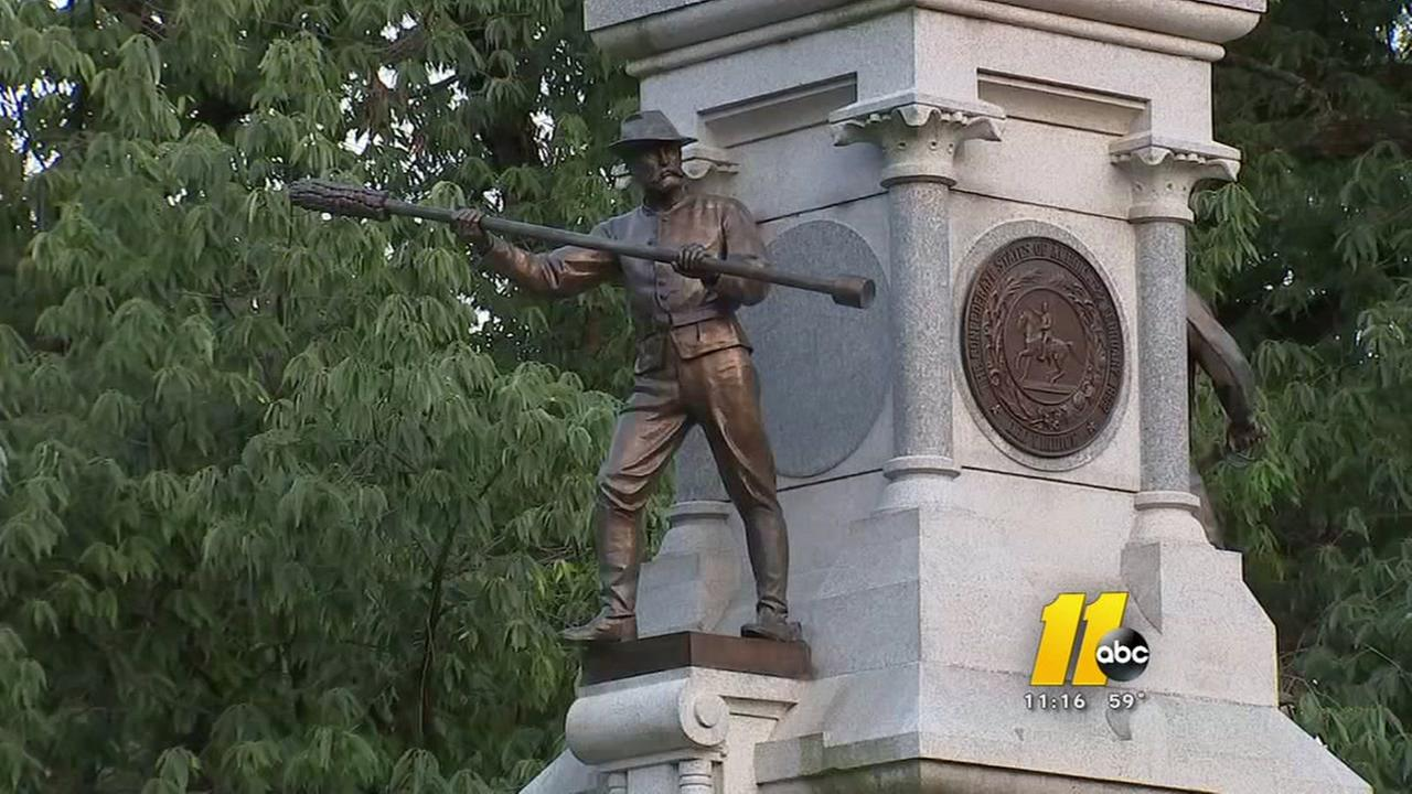 Committee discusses fate of Confederate statues