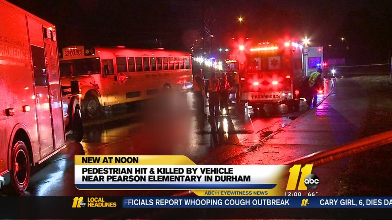 Woman killed while crossing street with fiance near Durham elementary school